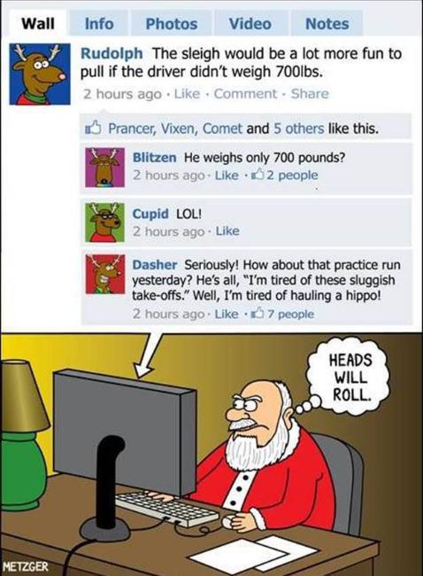 Santa Logs On