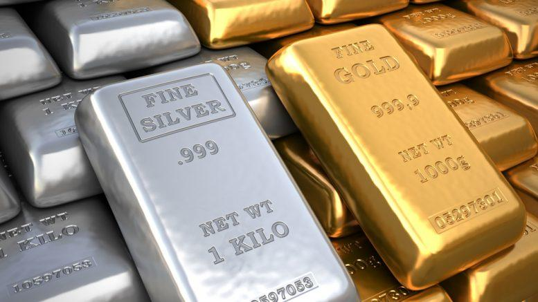 Silver And Gold Ingots