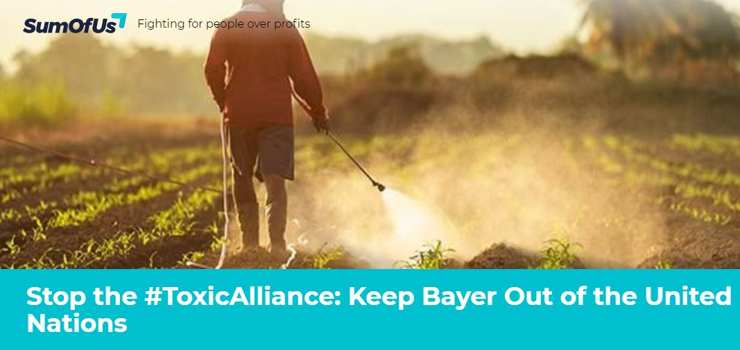 Stop The Toxic Alliance