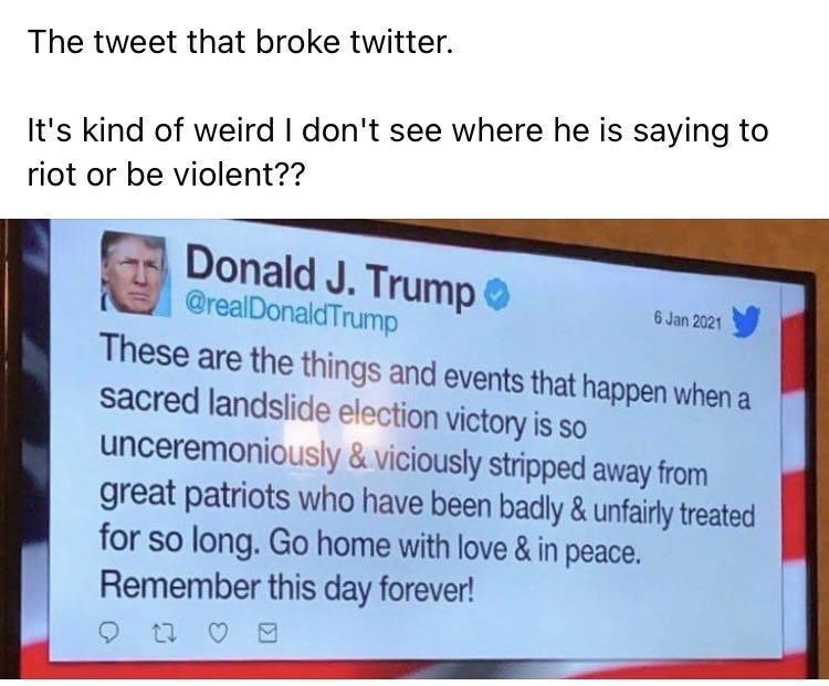 The Trump Tweet That Twitter Gagged On