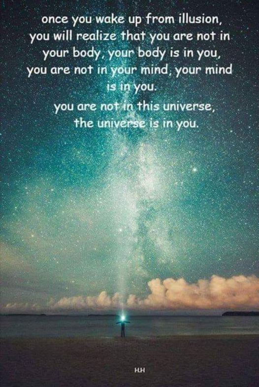 The Universe Is In You
