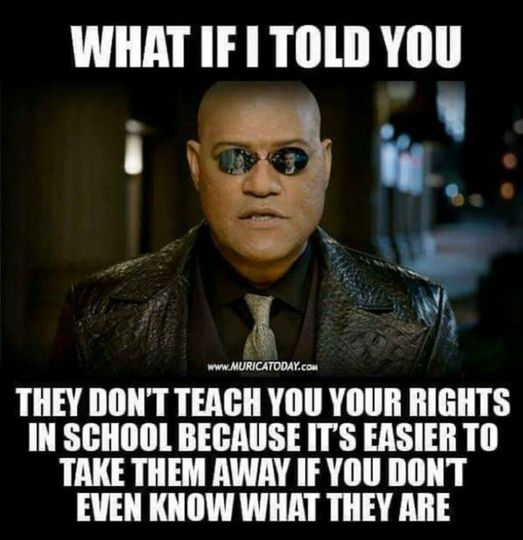 They Don't Teach Human Rights Because...