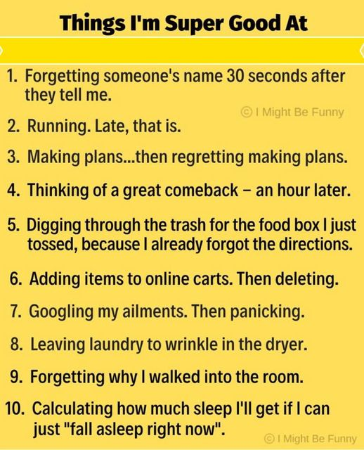 Things I Have Done