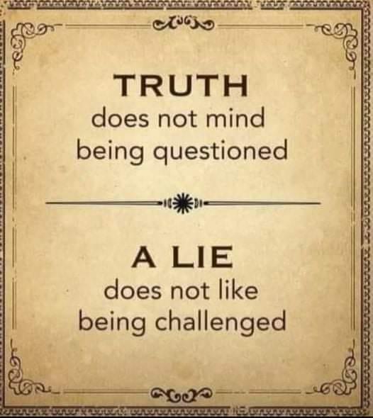 Truth Versus Lie