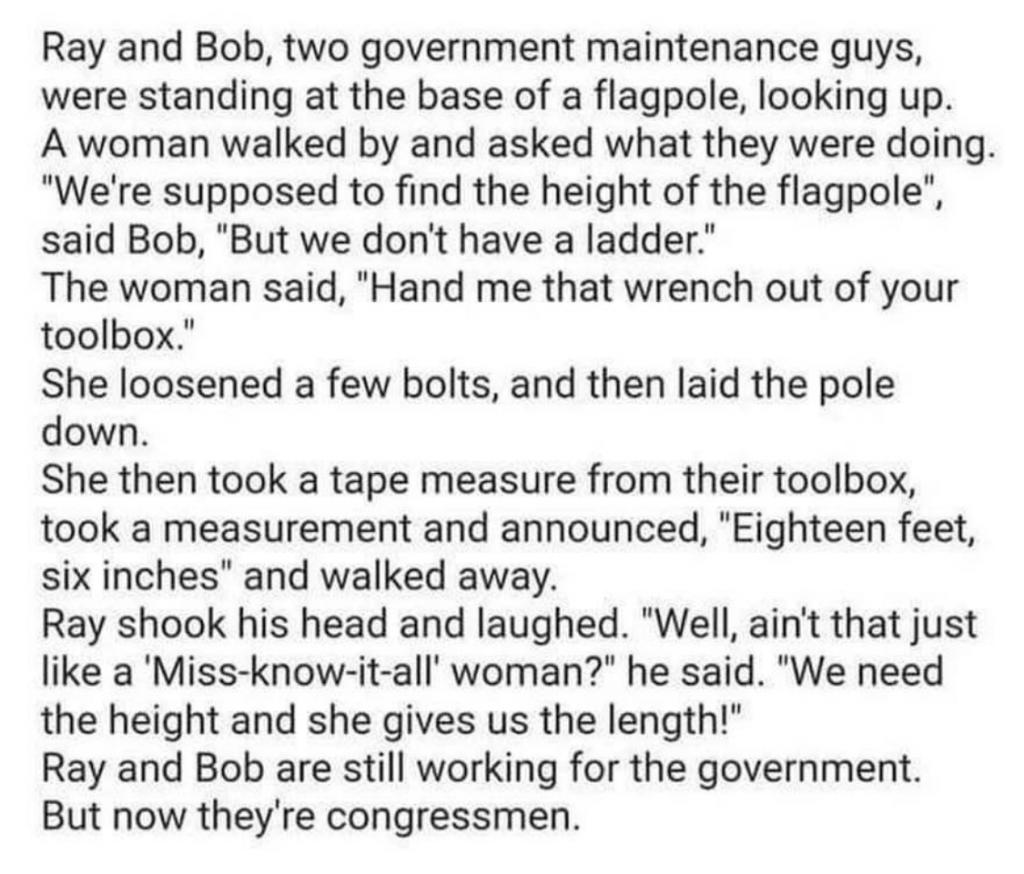 Two Govt Maintenance Guys