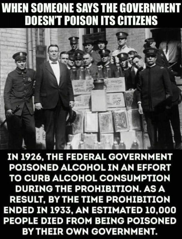 US Govt Poisons It's Citizens