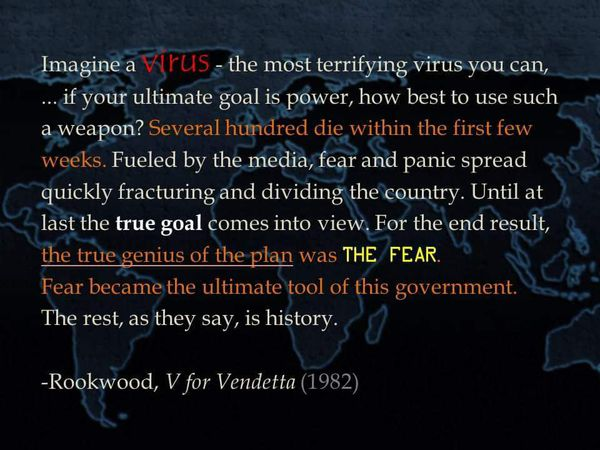 V For Vendetta Quote