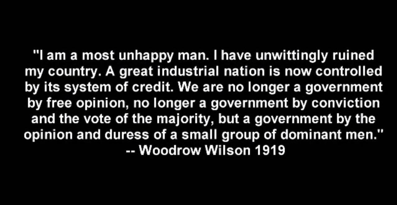 Woodrow Wilson Quote