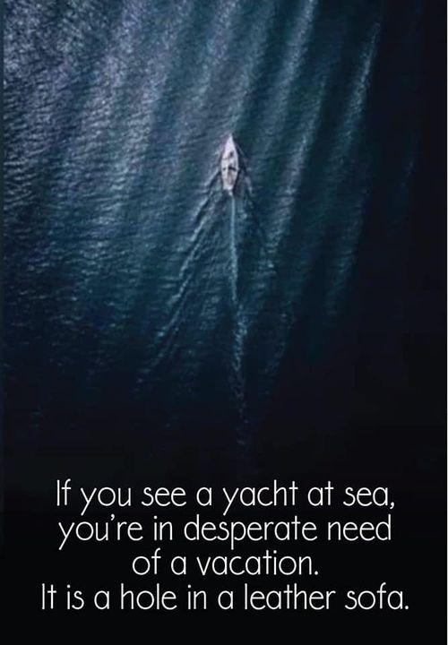 Yacht At Sea or...